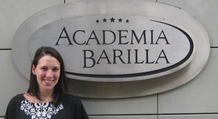 Alex at Academia Barilla
