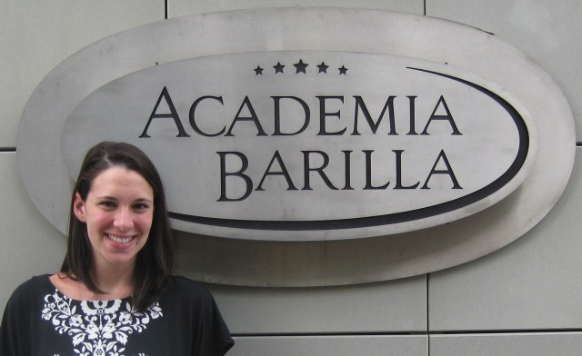 Alex at Academia Barilla