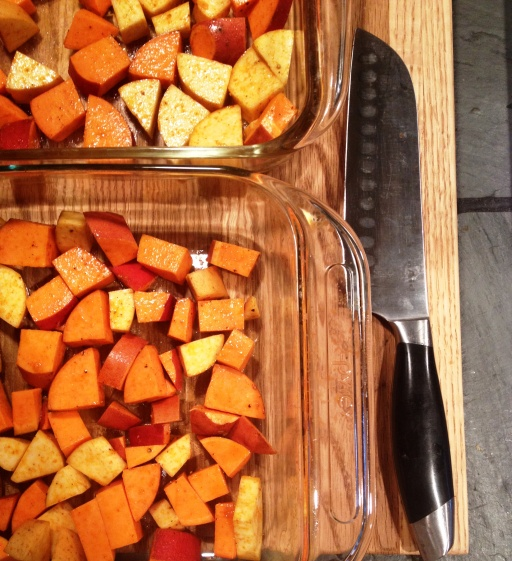 Smoked Sweetpotatoes