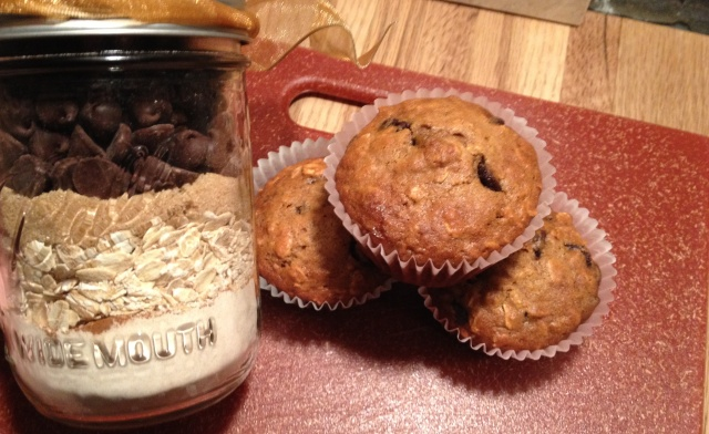 ... ones. This year it will be homemade Oatmeal Chocolate Chip Muffins