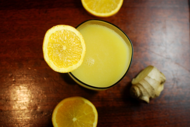 Orange Ginger Juice
