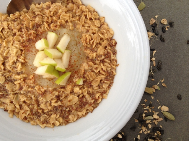 Chai Tea Apple Oatmeal